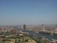 Панорама Каира с высоты телевизионной башни