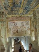 Долина фараонов, внутри