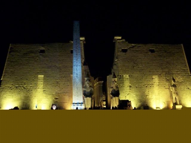Храмы Луксора в ночи